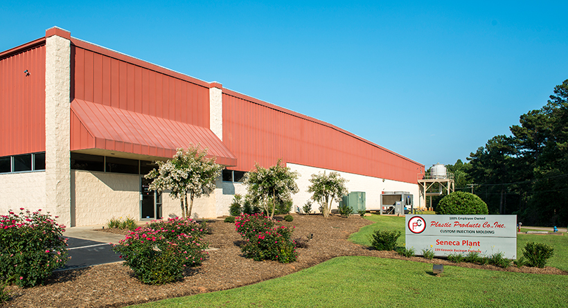Plastic Products Co. In. Seneca, SC Plant