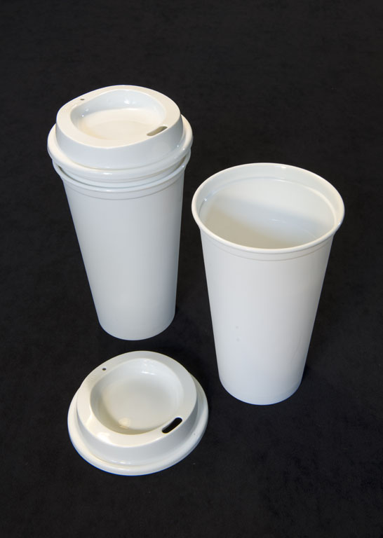 Hard Plastic Injection Molded Cup