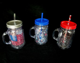 Plastic Injection Molded Insulated Mug