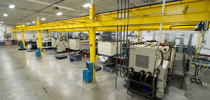 Injection Molding Automated Cells